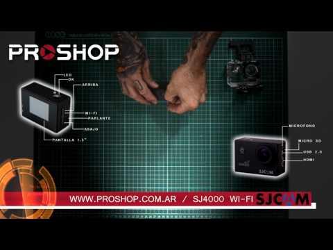 Unboxing SJ4000 Wifi en Español - Para SJCAM Argentina