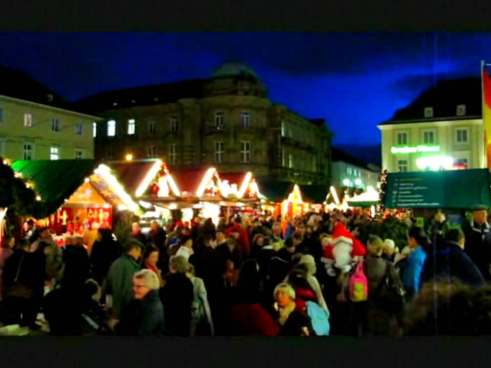 Karlsruhe Weihnachtsmarkt.Weihnachtsmarkt Karlsruhe 2009