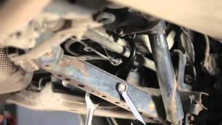 Montering af Ophængning manuel gearkasse SEAT IBIZA V (6J5, 6P5): gratis video