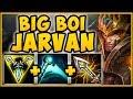 STOP PLAYING JARVAN WRONG! FULL AD BIG BOI JARVAN IS 100% NUTTY! JARVAN SEASON 9! League of Legends