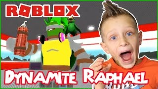 Raphael the Dynamite Turtle / Roblox