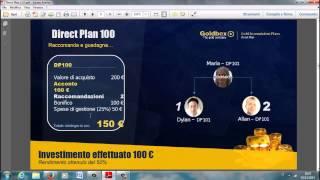 Presentazione direct plan golbex: italian version