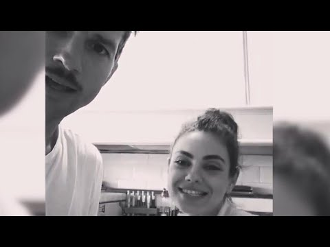 Watch Ashton Kutcher And Mila Kunis SING Their Hearts Out To 'La Vaca Lola'