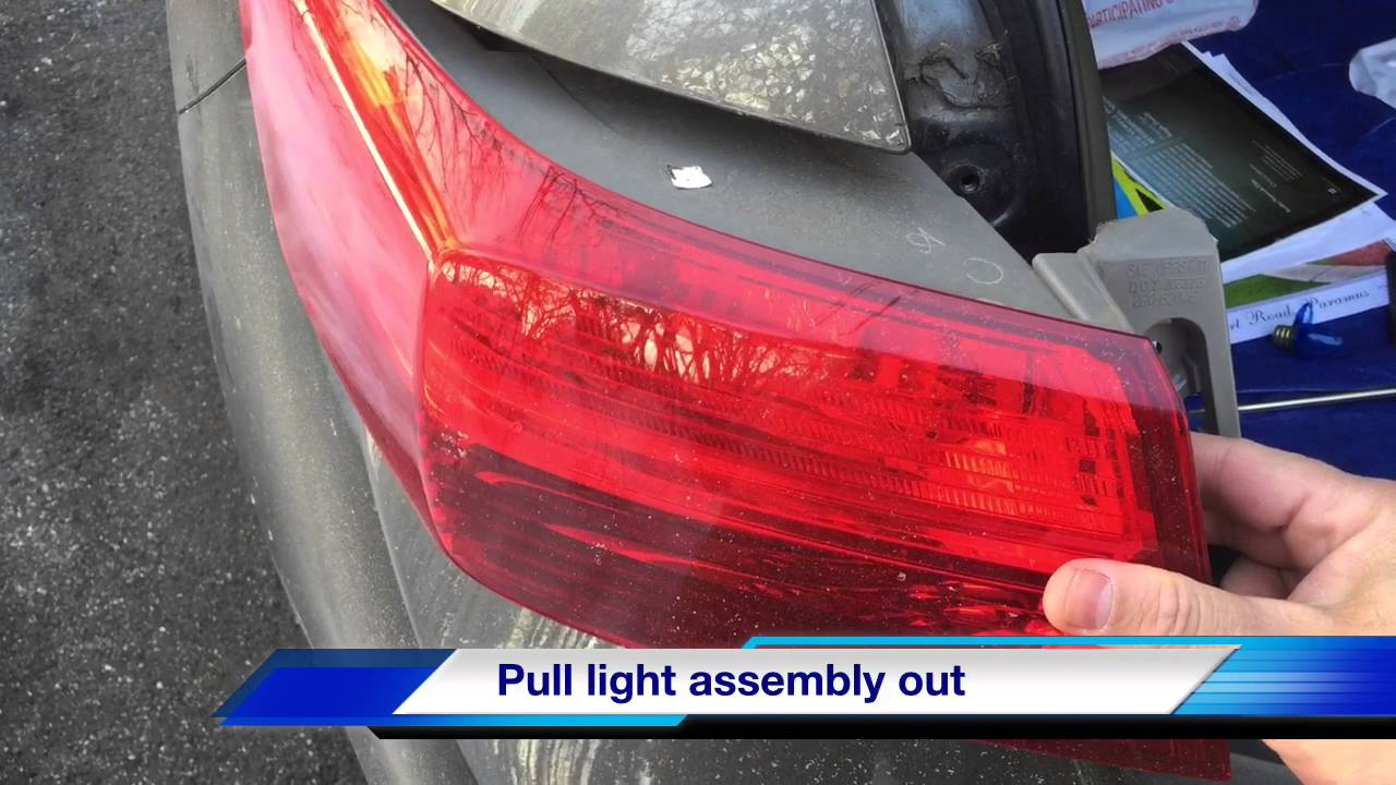 How To Replace Acura Tail Light Brake Turn Signal Detailed Step By You