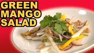 Green Mango Salad W/ Chili Lime Vinaigrette