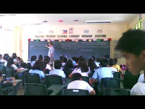 Richard Symes Teofisto Fernandez Elementary School 6th Grade Section 4 Gospel Presentation