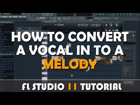 "FL Studio 11 | How To Convert A Vocal Sample In to A Vocal Melody With ""Newtone"" (commentary)"