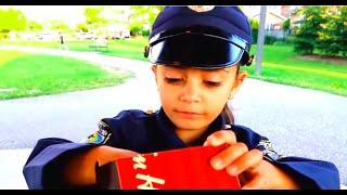 Heidi  تلعب دور ضابط شرطة في الحديقة . الشرطية شفا دخلت السجن !!