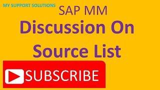SAP MM Kaynak Listesi