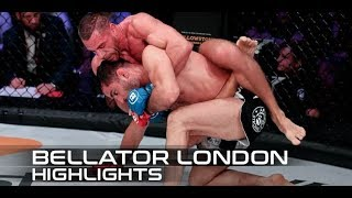 Bellator London Fight Highlights: Rafael Lovato Jr. Upsets Gegard Mousasi