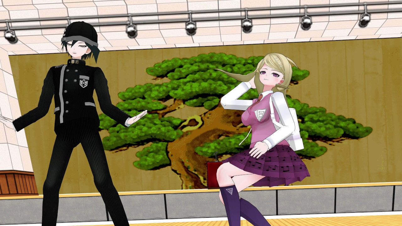 kaede and saihara are best friends