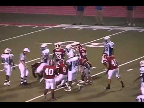 Kevin Williams #89 - DE/DT Zachary Broncos Class of 2012