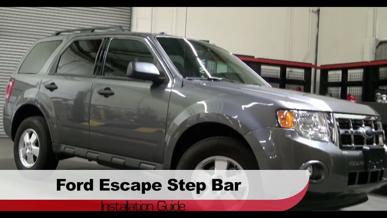 Spyder Auto Installation 20082012 Ford EscapeMazda Tribute Step