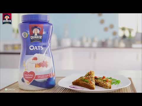 Dakshini Toast With Quaker Oats