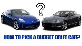 How to pick a budget drift car explained