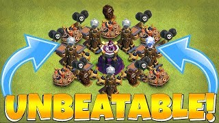 "UPGRADED MAX WIZ TOWER!! ""Clash Of Clans"" TROLL BASE!!"