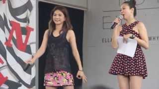 ELLA 陈嘉桦 WHY NOT 新加坡签唱会 01 出场+你正常吗+TALKING PART1