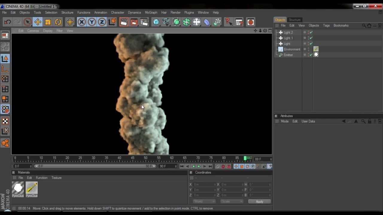 2minutetutorials cinema 4d smoke youtube