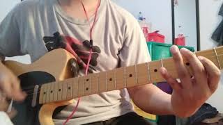 The Side Project - Touche ( guitar cover )
