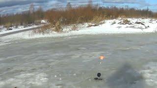 Зимняя рыбалка на малой реке рыбалка на жерлицы рыбалка на донки ловим зимой на червя щука на живца