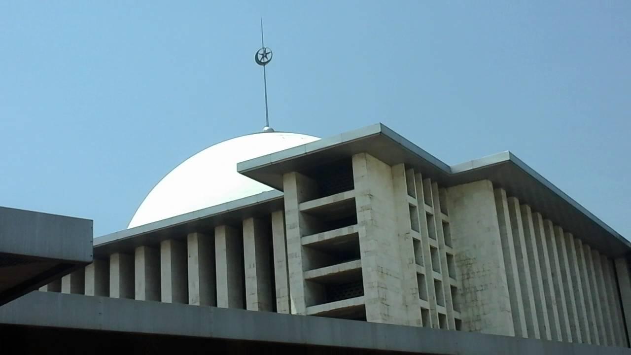 Keindahan Masjid Istiqlal Jakarta Youtube