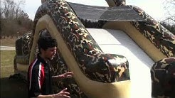 delta force 45 inflatable obstacle course
