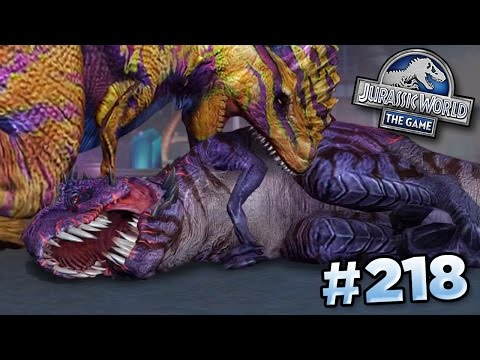 OMEGA DEFEATED???    Jurassic World - The Game - Ep218 HD