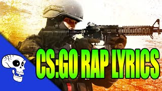 "CS:GO Rap LYRIC VIDEO by JT Music - ""Raining Shells"""