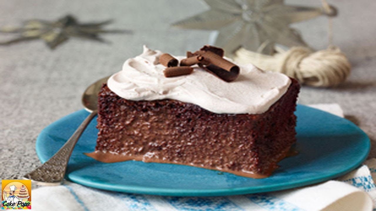 CHOCOLATE TRES LECHES CAKE - Durmes Gumuna