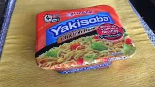 Maruchan Yakisoba Chicken Flavor Review