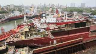 The Wire Nest...life In Mumbai's Shipbreaking Yards