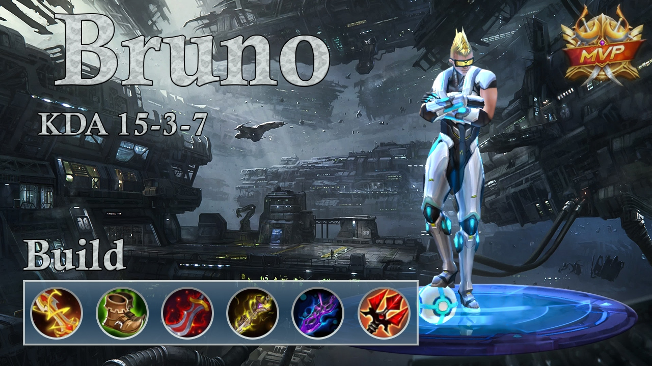 Mobile Legends: Bruno MVP, Strong Build Certified!