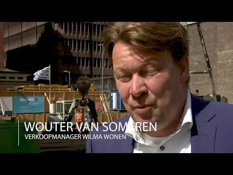 Wilma Wonen - The Muse Rotterdam eerste paal