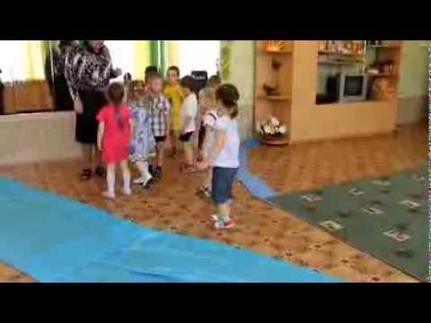 """Занятие для детей 3-4 лет """"Необычное путешествие"""".mpg"""