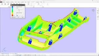 Моделирование в PowerShape. Импорт модели, анализ и восстановление