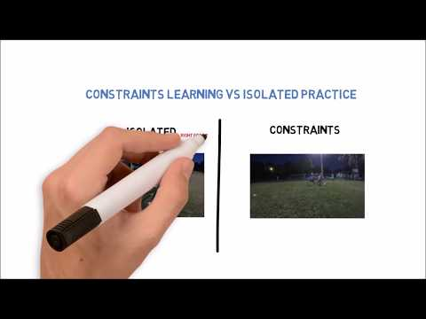 Constraints learning vs Isolated Practice