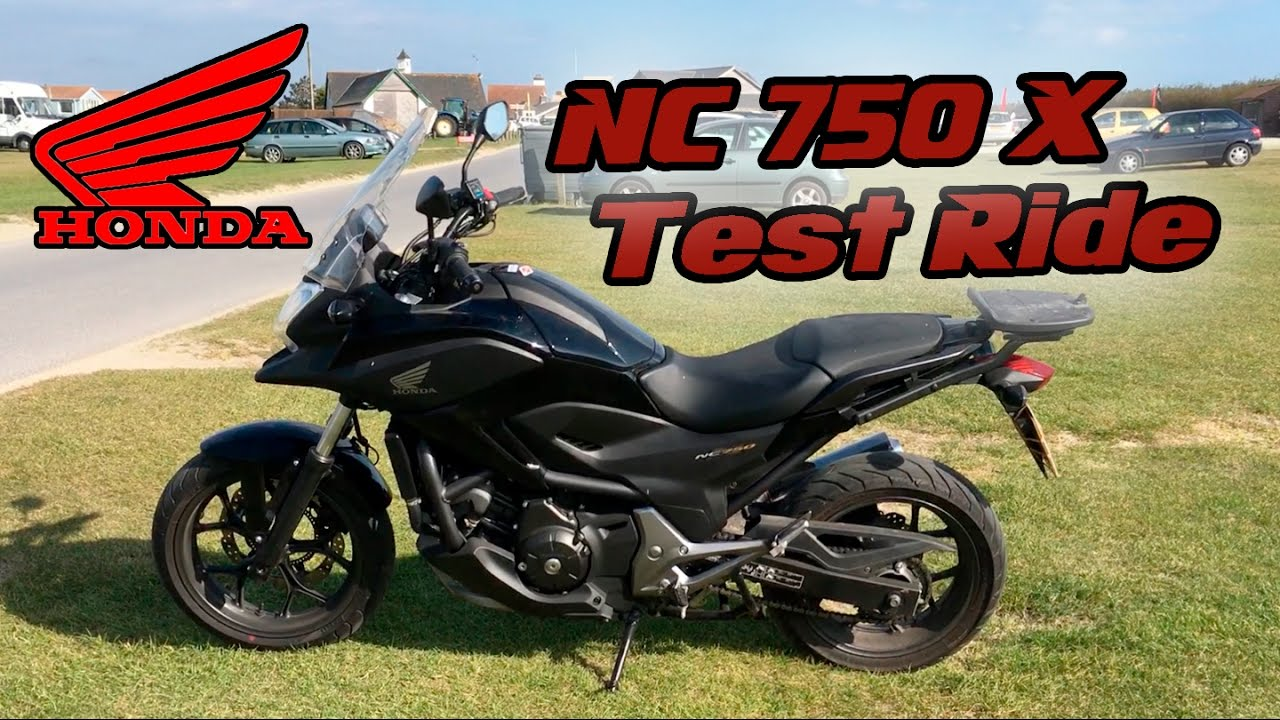 Honda Nc750x Test Ride With Dct Youtube