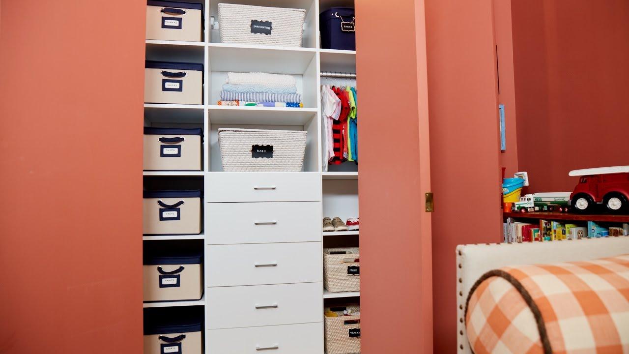 Closet Installation for Sophie Donelson of <em>House Beautiful</em> Magazine