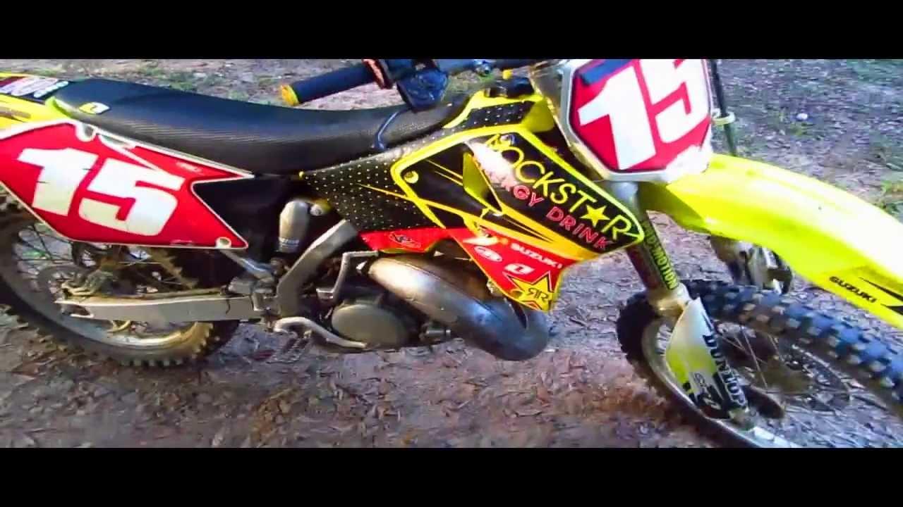 2006 Suzuki Rm 125 2 Stroke Dirtbike Youtube