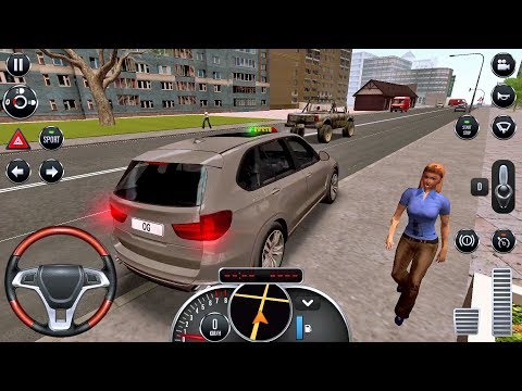 Taxi Sim 2016 #12 - DANGEROUS RIDE! Taxi Game Android IOS Gameplay