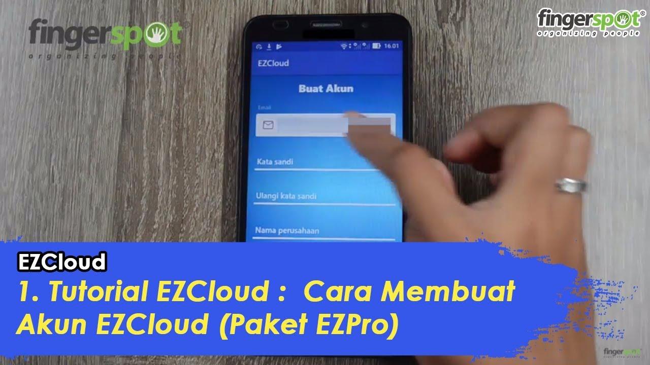 1  Tutorial EZCloud : Cara Membuat Akun EZCloud dari APP Android