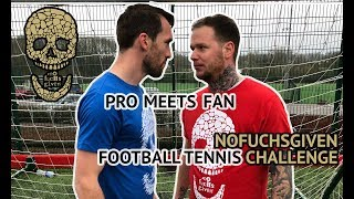 #NoFuchsGiven Football Tennis Challenge with LCFC Supporter Ricky