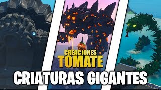 Criaturas Gigantes - Fortnite Creaciones Tomate - Episodio 19