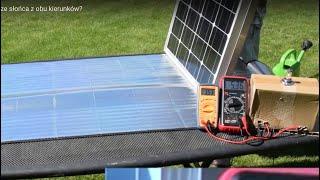 [26] Mój prąd - Dwustronny panel   czy warto korzystać ze słońca z obu kierunków?