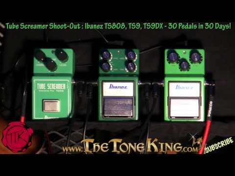 Which Ibanez Tube Screamer Do You Like Best?  TS9 Vs. TS808 Vs. TS9DX