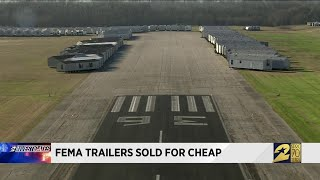 FEMA trailers sold for cheap