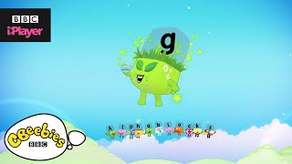 "Learn letter ""g"" with the Alphablocks Magic Words 
