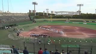 ソフトボール男子リーグ2019 決勝戦 (2019/11/10) 平林金属 vs デンソー
