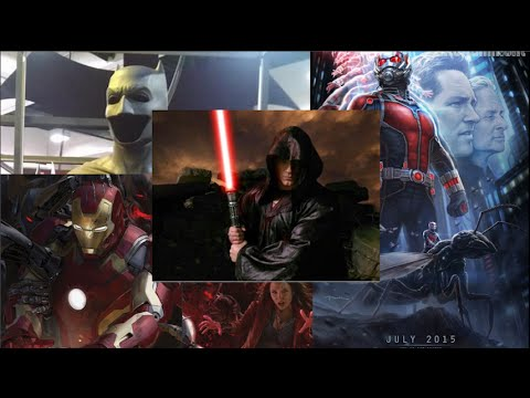 Superman Turned Sith?! Avengers 2 and Ant-Man Get New ...