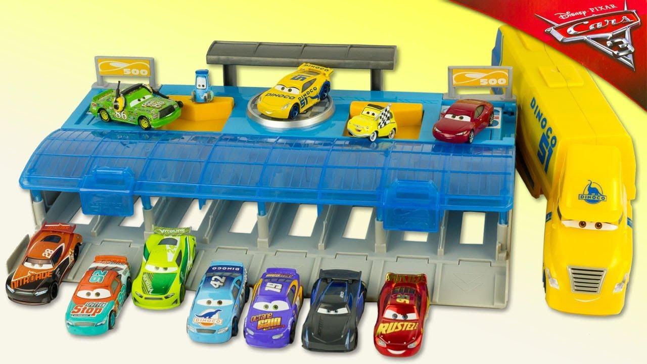 Disney Cars 3 Mega Lanceur Cruz Ramirez McQueen
